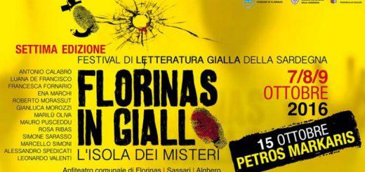 Florinas in Giallo 2016 - Dal 7 al 9 ottobre