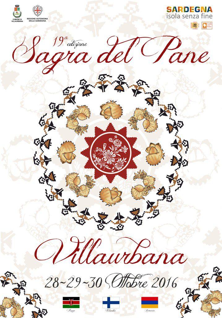 19^ edizione Sagra del Pane di Villaurbana - Dal 28 al 30 ottobre 2016