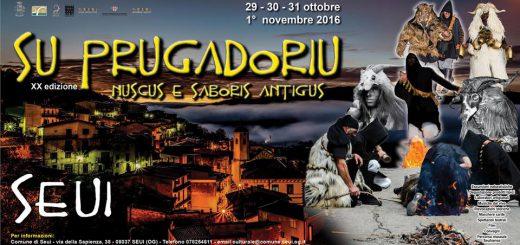 XX^ edizione Su Prugadoriu - A Seui dal 29 ottobre all'1 novembre 2016