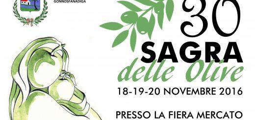 30^ Sagra delle Olive a Gonnosfanadiga - Dal 18 al 20 novembre 2016