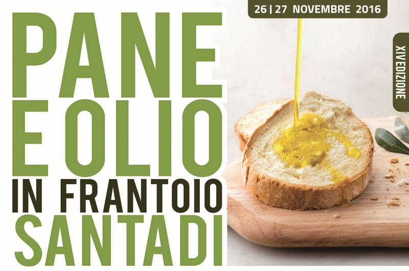 14^ edizione Pane e Olio in Frantoio - A Santadi il 26 e 27 novembre 2016