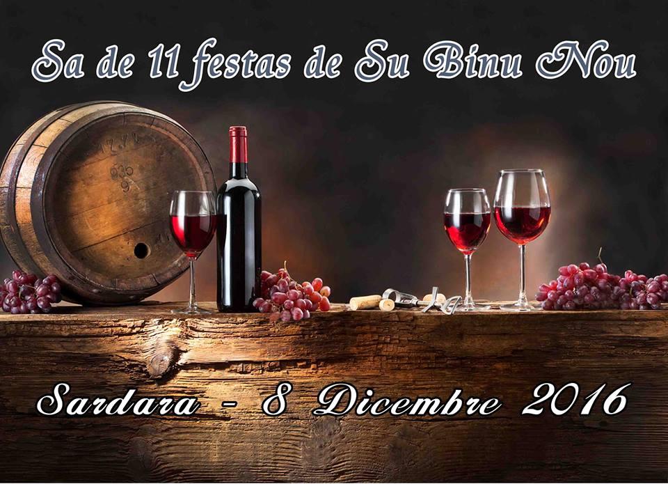 Festa De Su Binu Nou 2016 a Sardara - Giovedì 8 dicembre 2016
