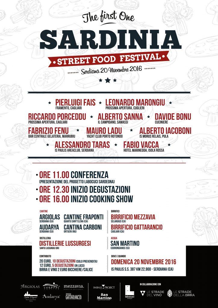 Sardinia Street Food Festival a Serdiana - Domenica 20 novembre 2016