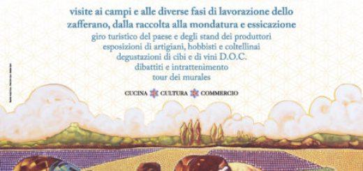 26^ Mostra Regionale dello Zafferano a San Gavino Monreale