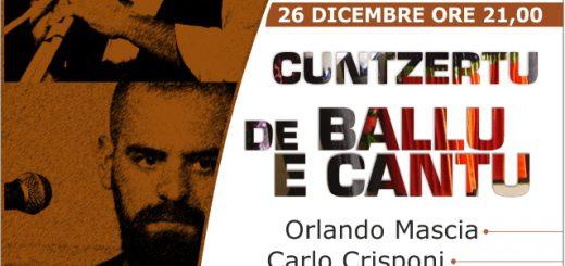 """""""Cuntzertu de ballu e de cantu"""" - Lunedì 26 dicembre 2016 a Nurachi"""