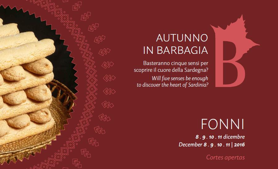 Autunno in Barbagia a Fonni - Dall'8 all'11 dicembre 2016