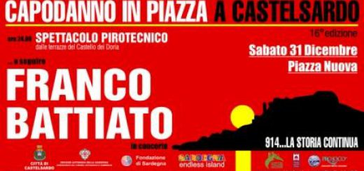 Capodanno 2017 a Castelsardo con Franco Battiato