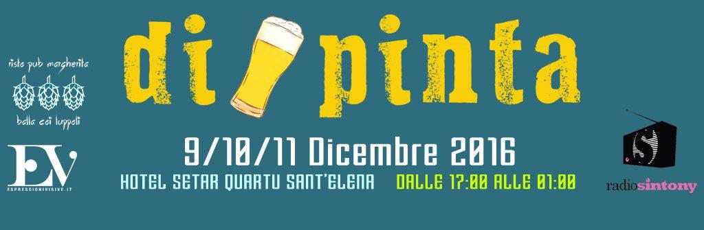 DiPinta: Dove la birra incontra l'arte - A Quartu Sant'Elena dal 9 all'11 dicembre 2016