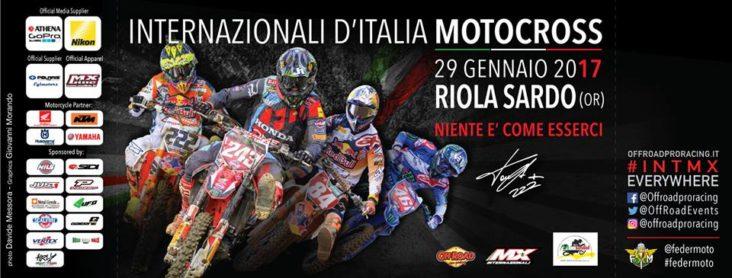 Internazionali d'Italia Motocross 2017 a Riola Sardo - Domenica 29 Gennaio