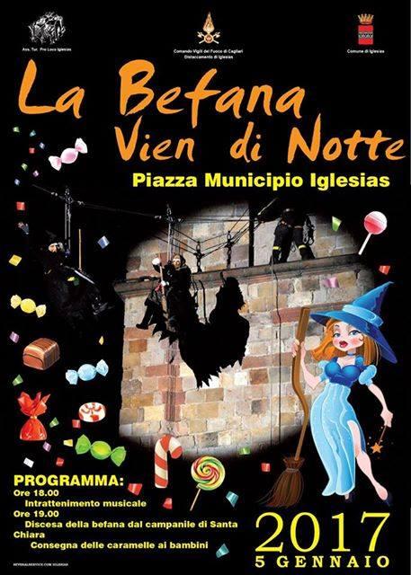 La Befana vien di notte a Iglesias