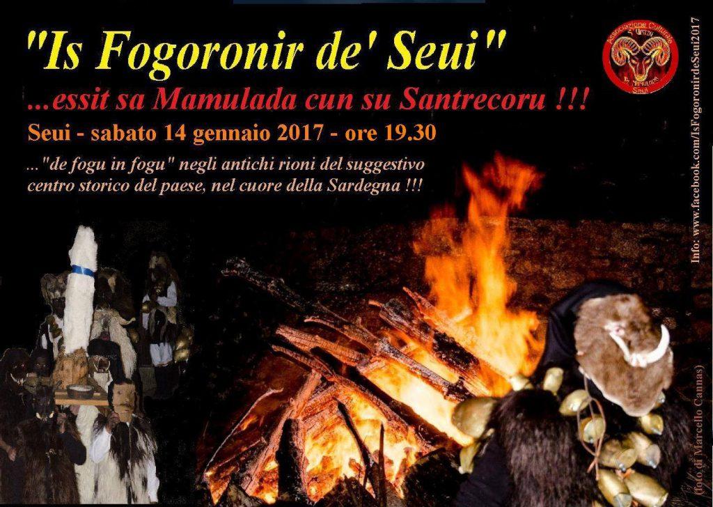Is fogoronis de' Seui - Sabato 14 gennaio 2017