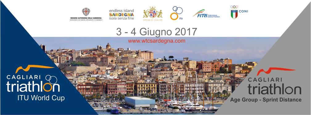 Triathlon World Cup Sardegna a Cagliari - 3 e 4 giugno 2017
