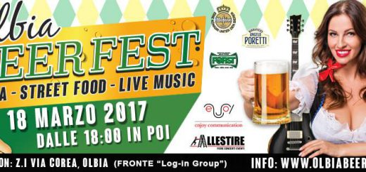 Olbia Beer Fest - Sabato 18 marzo 2017