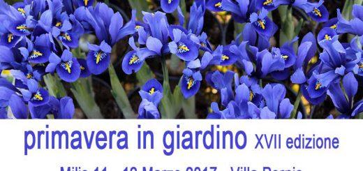 Primavera in giardino 2017