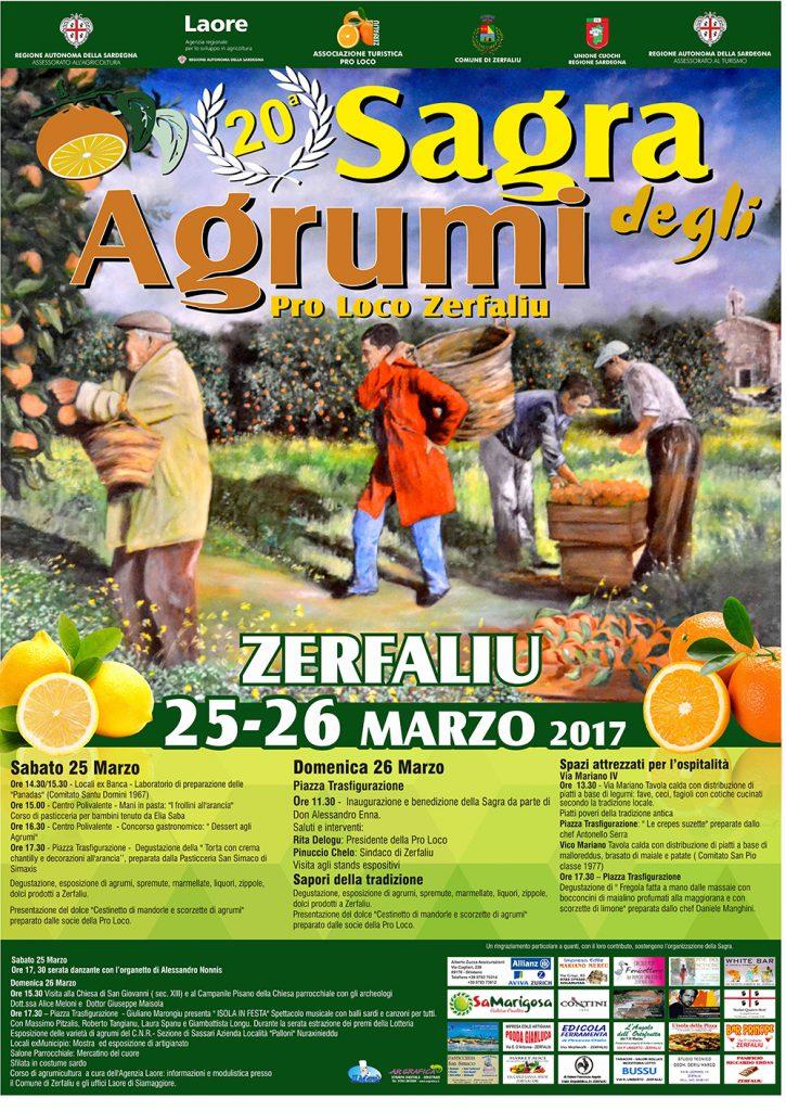 20^ Sagra degli Agrumi di Zerfalìu - 25 e 26 marzo 2017