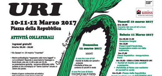 XXVII Sagra del carciofo di Uri - Dal 10 al 12 marzo 2017