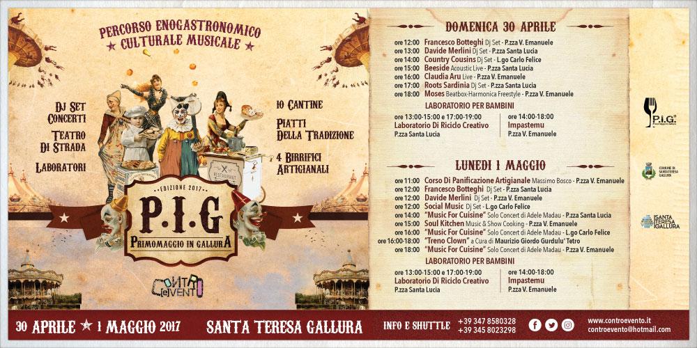 P.I.G. - Primomaggio in Gallura: Terza edizione percorso enogastronomico, musicale e culturale