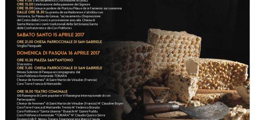 38^ Sagra del Torrone di Tonara - Lunedì 17 aprile 2017