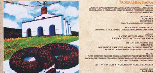 XXIV edizione della Sagra de su Pani Saba - A Sini il 25 aprile 2017