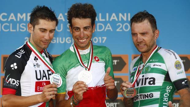 Fabio Aru è il nuovo campione italiano di ciclismo