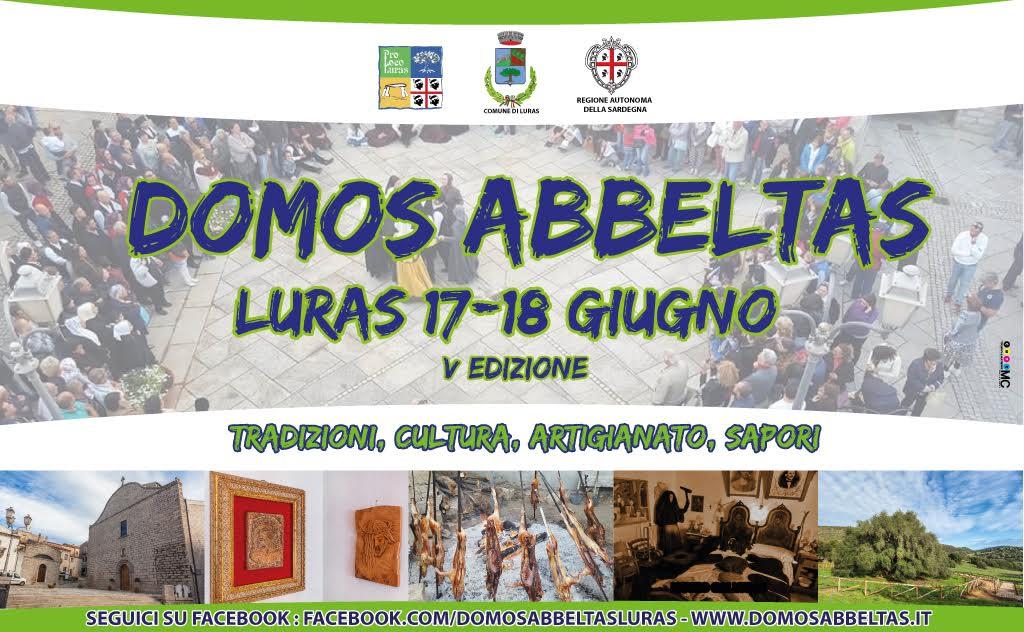 5^ edizione Domos Abbeltas - A Luras il 17 e 18 Giugno 2017