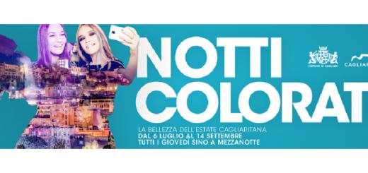 """Dal 6 luglio al 14 settembre a Cagliari tornano le """"Notti Colorate"""""""