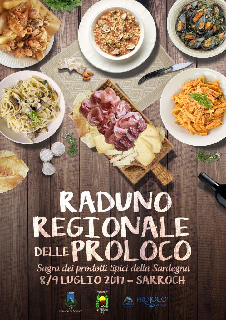 Raduno Regionale delle Pro Loco della Sardegna - A Sarroch dall'8 al 9 Luglio 2017