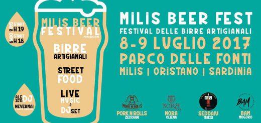 Milis Beer Fest, il festival delle birre artigianali - Sabato 8 e domenica 9 luglio 2017