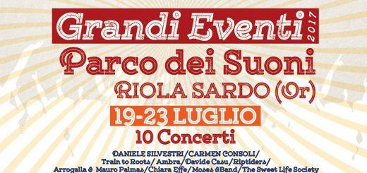 Stagione Grandi Eventi 2017 - A Riola Sardo dal 19 al 23 luglio