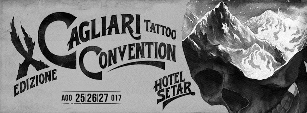 X edizione Cagliari Tattoo Convention - Dal 25 al 27 agosto 2017