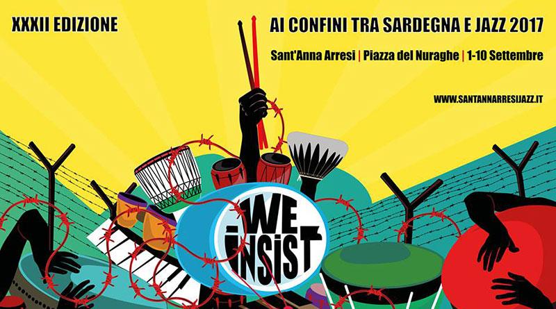 XXXII edizione del Sant'Anna Arresi Jazz Festival - Dall'1 al 10 settembre 2017 a Sant'Anna Arresi