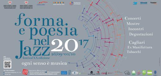 Forma e Poesia nel Jazz 2017 - A Cagliari dal 28 settembre al 1 ottobre 2017