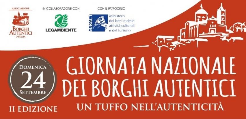 Giornata Nazionale dei Borghi Autentici d'Italia - Domenica 24 settembre 2017 anche in Sardegna!