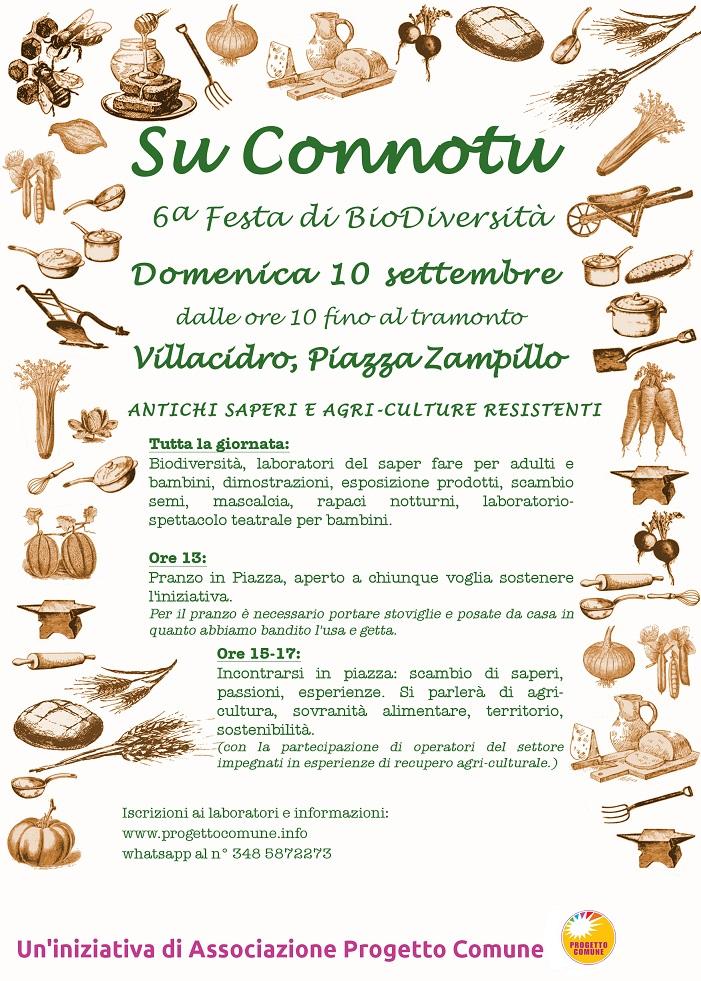 """""""Su Connotu"""" - A Villacidro il 10 settembre 2017"""