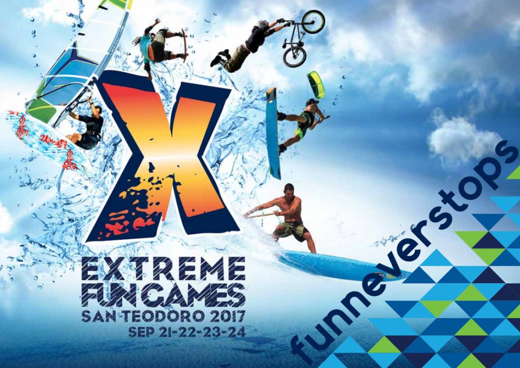 Extreme Fun Games - A San Teodoro dal 21 al 24 settembre 2017