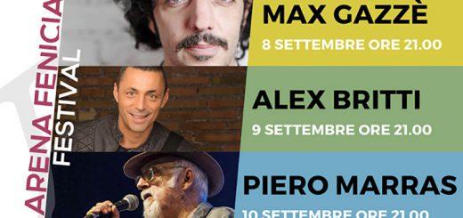 Arena Fenicia Festival - A Sant'Antioco dall'8 al 10 settembre 2017