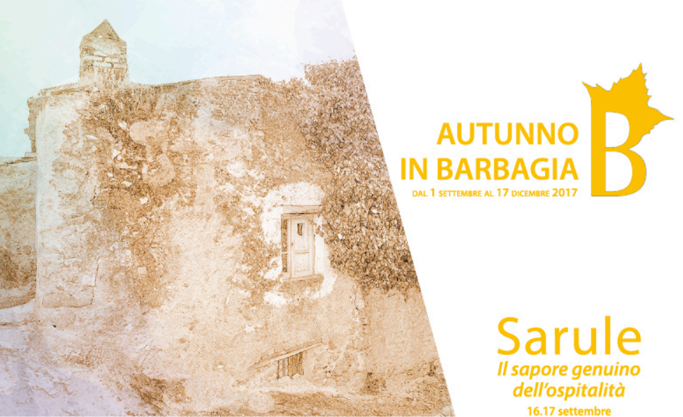 Autunno in Barbagia 2017 a Sarule – Il 16 e 17 settembre