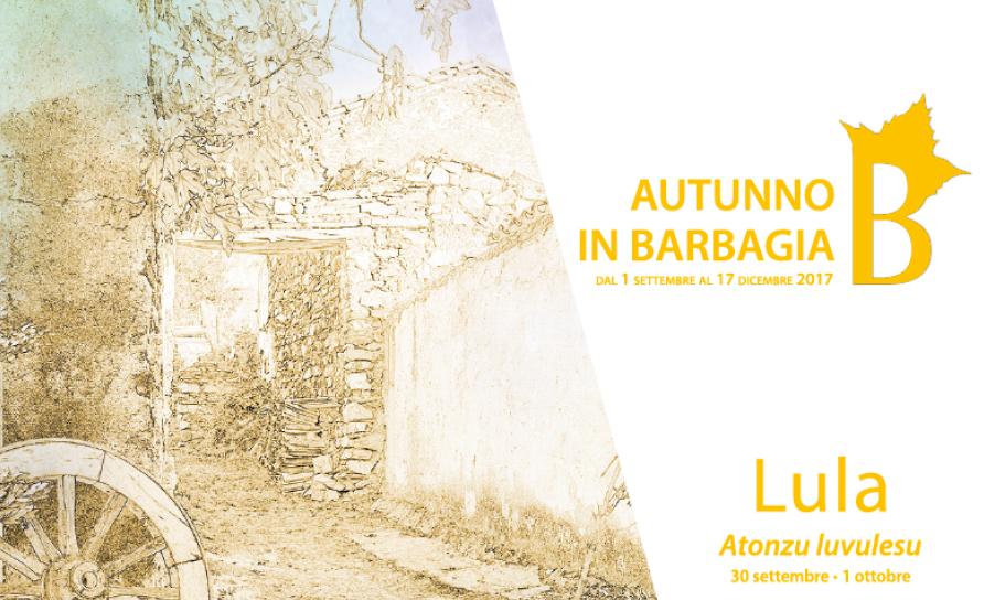 Autunno in Barbagia 2017 a Lula – Dal 30 settembre al 1 ottobre