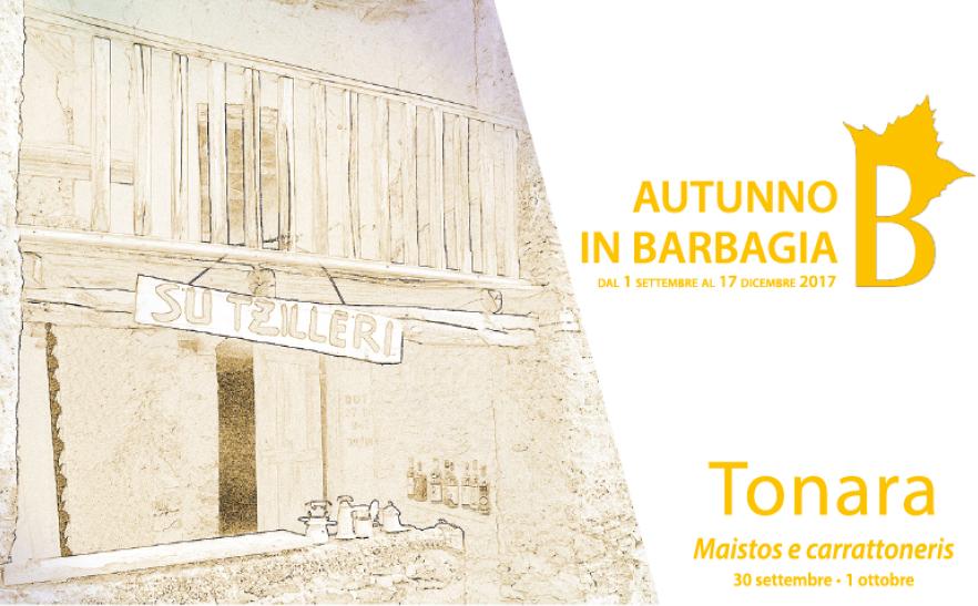 Autunno in Barbagia 2017 a Tonara – Dal 30 settembre al 1 ottobre