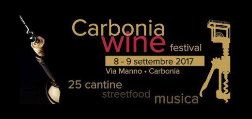 1^ edizione Carbonia Wine Festival - Sabato 9 e domenica 10 settembre 2017