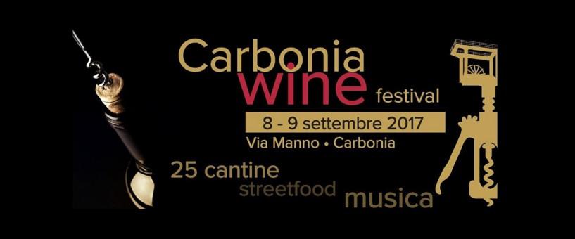 1^ edizione Carbonia Wine Festival - Venerdì 8 e sabato 9 settembre 2017