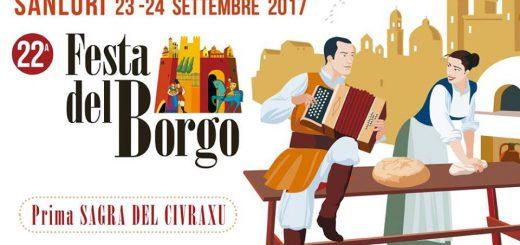 22^ edizione Festa del Borgo di Sanluri - Sabato 23 e domenica 24 settembre 2017