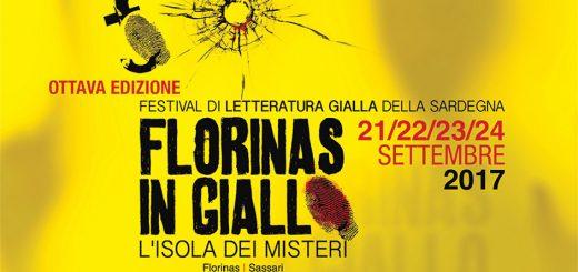 """VIII Edizione """"Florinas in Giallo"""" - Dal 21 al 24 settembre 2017 a Florinas"""