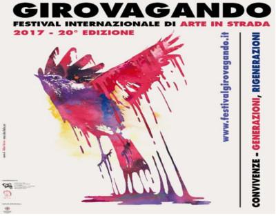 """Festival Internazionale di Arte in Strada """"Girovagando"""" - A Sassari dal 14 al 17 settembre 2017"""