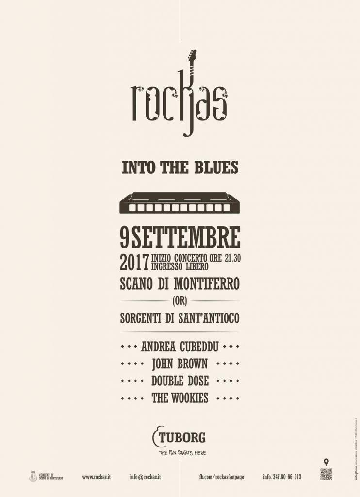 RocKas Into the Blues - A Scano di Montiferro il 9 settembre 2017