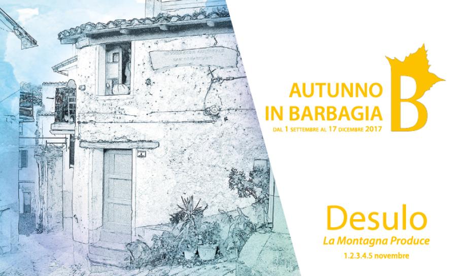 Autunno in Barbagia 2017 a Desulo – Dal 1 al 5 novembre