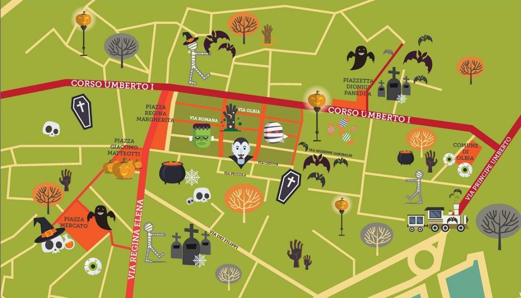 La mappa degli eventi di S'iscuru
