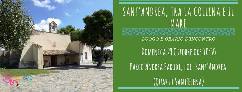 Sant'Andrea: tra la collina e il mare - Domenica 29 ottobre 2017
