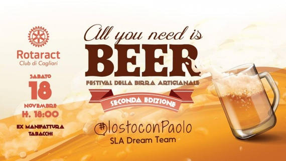 All You Need Is Beer - Sabato 18 novembre a Cagliari