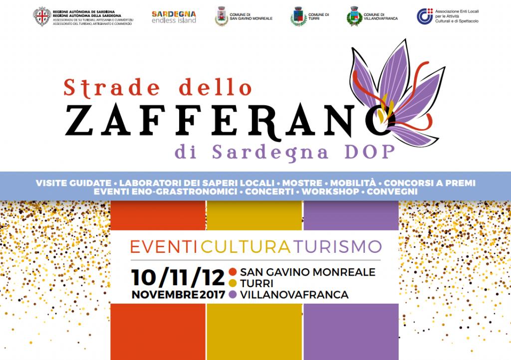Strade dello Zafferano di Sardegna DOP - Dal 10 al 12 novembre 2017